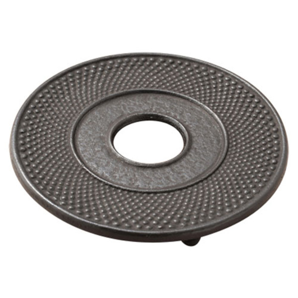 Image of Black Cast Iron Round Trivet