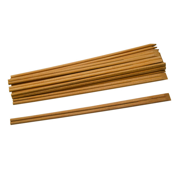 Image of Disposable Natural Carbon Treated Bamboo Chopsticks (Tensoge)