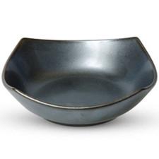 Tessa Black Square Bowl