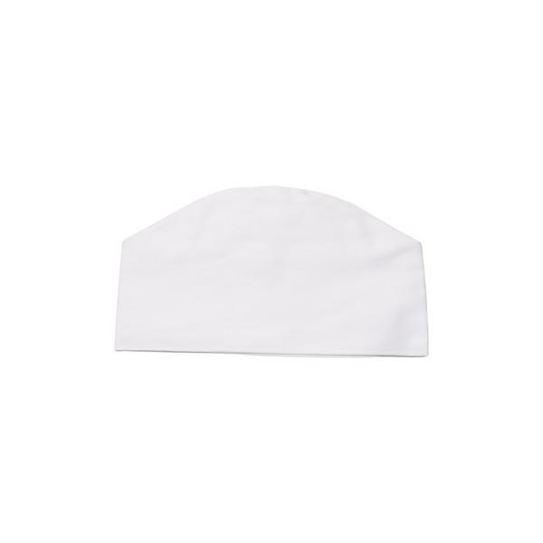 Image of White Chef Hat - Medium