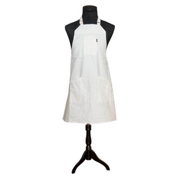 Image of White Rice Baby (White/White) Apron by Chef Angelo Sosa 1