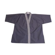 Blue Daiya Collar Sushi Chef Coat - Large