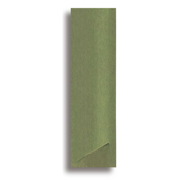 Image of Green Paper Sleeve for Chopsticks 1