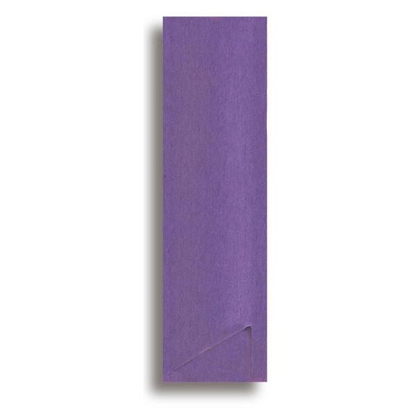 Image of Purple Paper Sleeve For Chopsticks 1