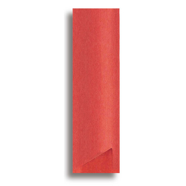 Image of Red Paper Sleeve for Chopsticks 1