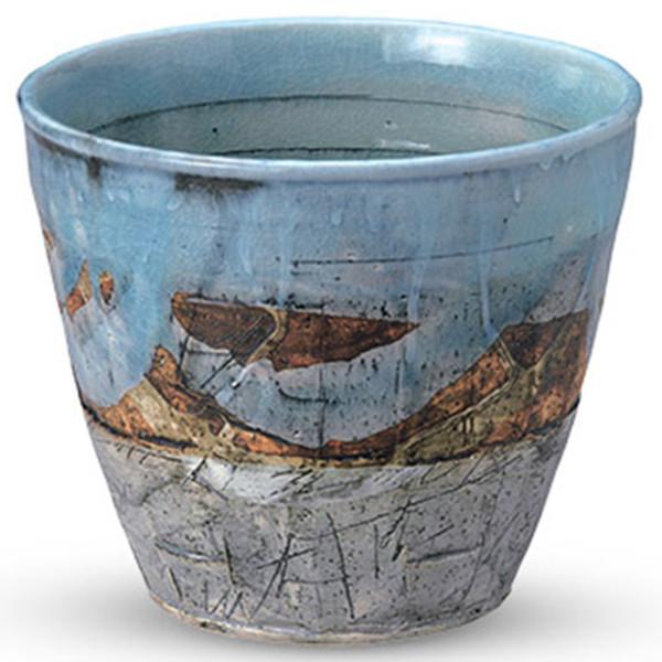 Image of Yuu Sea Earthenware Wine Cooler