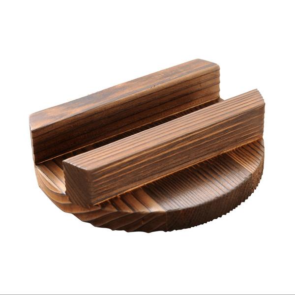 Image of Wood Cover for Aluminum Kamameshi Pot