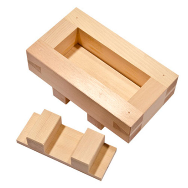 Image of Wooden Battera Sushi Mold
