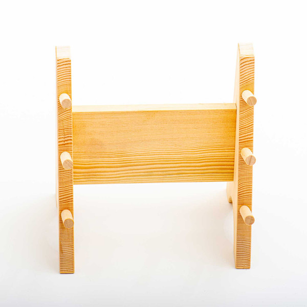 Image of Wooden Knife Stand 3 Piece 2