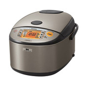 Zojirushi IH Rice Cooker & Warmer Stainless Steel 10 Cup