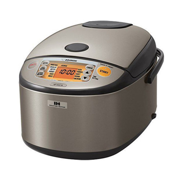 Image of Zojirushi IH Rice Cooker & Warmer Stainless Steel 10 Cup