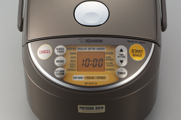 Image of Zojirushi Induction Heating Pressure Rice Cooker & Warmer 5.5Cups 3