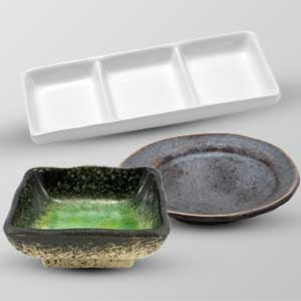 Single Compartment Soy Dishes